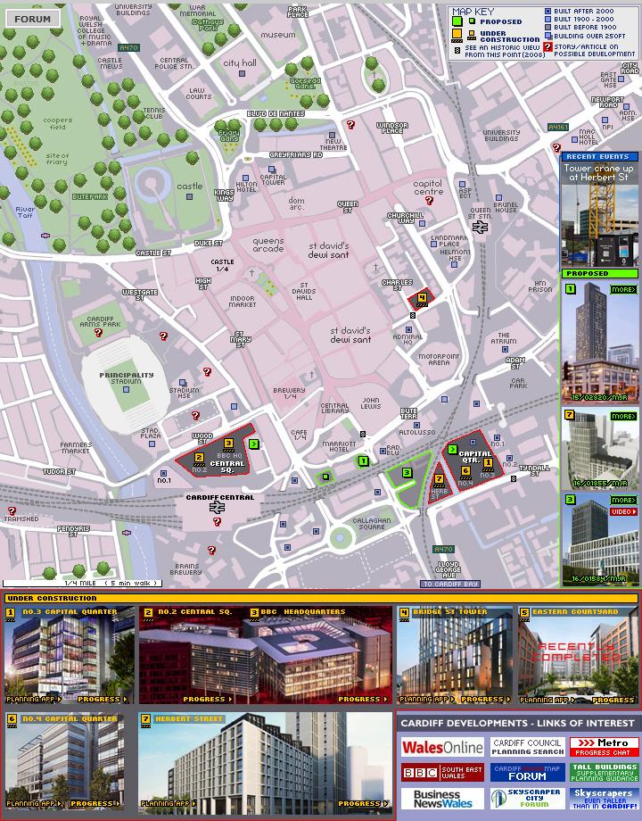 Cardiff developments