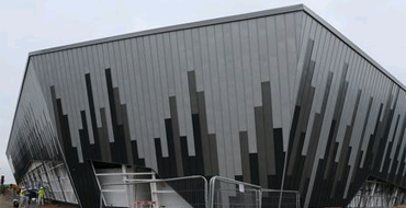 New Ice Arena under Construction at the Cardiff International Sports Village
